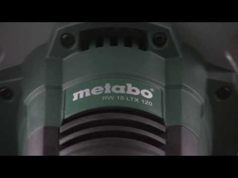 Міксер акумуляторний METABO RW 18 LTX 120 Video #1