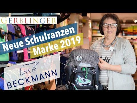 Neue Schulranzen Marke 2019 - Beckmann Schulranzen