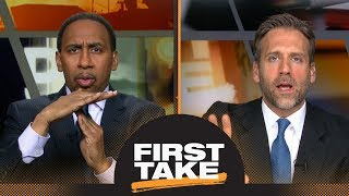 Stephen A. on Chris Paul, James Harden: 'I'm not letting CP3 off the hook' | First Take | ESPN