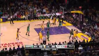 Ron Artest In 2010 NBA Finals (Celtics Lakers): Game 7