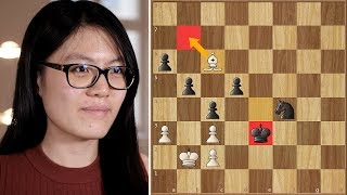You Snooze, You Lose | Caruana vs Hou Yifan | Grenke Chess Classic 2018.