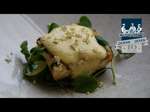 Wild Scottish Halibut, Summer Vegetables, Elderflower recipe by Stuart Ralston