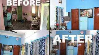 INDIAN DINNING ROOM REALISTIC BUDGET MAKEOVER/DECORATION/ORGANISATION IDEAS