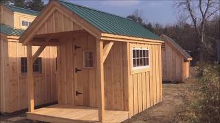 The Nook - Convert Garden Shed Into A Tiny House With Bunk Beds & Toilet (8X12 To 8X24 DIY & FA)
