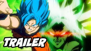 Dragon Ball Super Movie Trailer Broly Easter Eggs Explained - Comic Con 2018