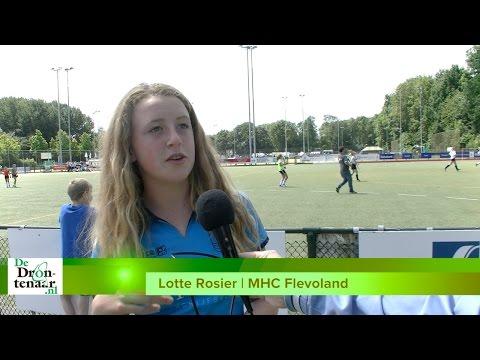 VIDEO | Hockey en veel gezelligheid bij jeugdtoernooi MHC Flevoland