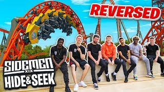 SIDEMEN REVERSE HIDE & SEEK IN A THEME PARK