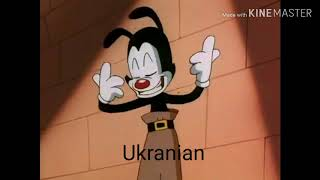 Animaniacs- Let the anvils ring multilanguage