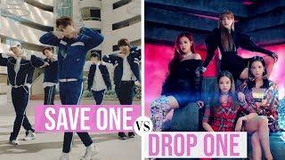 KPOP: SAVE ONE, DROP ONE (BOYGROUP VS GIRLGROUP)