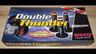Weco Double Thunder - Coole Single Shots