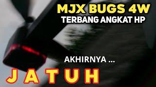 MJX B4W Jatuh   Terbang Angkat HP   Crash