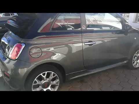Video Fiat 500 Cabrio GQ. AC. Bi Xenon.Mit Garantie !