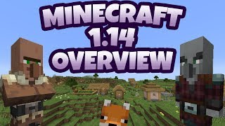 Minecraft 1.14   Everything You Need To Know!