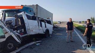 В аварии в Украине погибли 5 белорусов