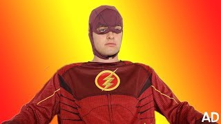 LIVING LIFE AS THE FLASH!