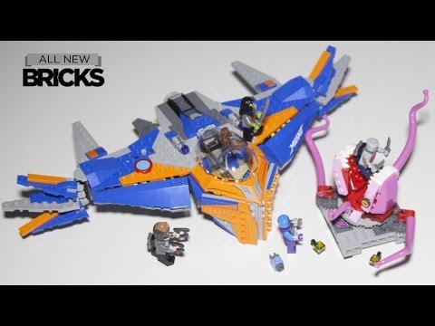 Vidéo LEGO Marvel Super Heroes 76081 : Le vaisseau Milano contre l'Abilisk