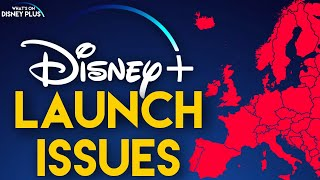 Disney+ European Launch Issues Including Quality Restrictions & French Delay | Disney Plus News