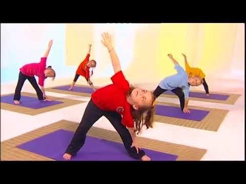 Йога для детей  занятие второе