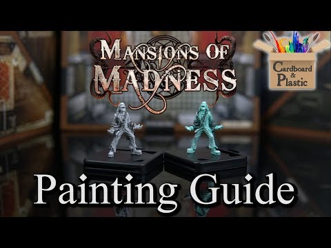 How to Paint Ghosts | Mansions of Madness Episode 14