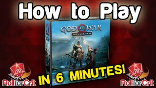 How to Play God of War: The Card Game
