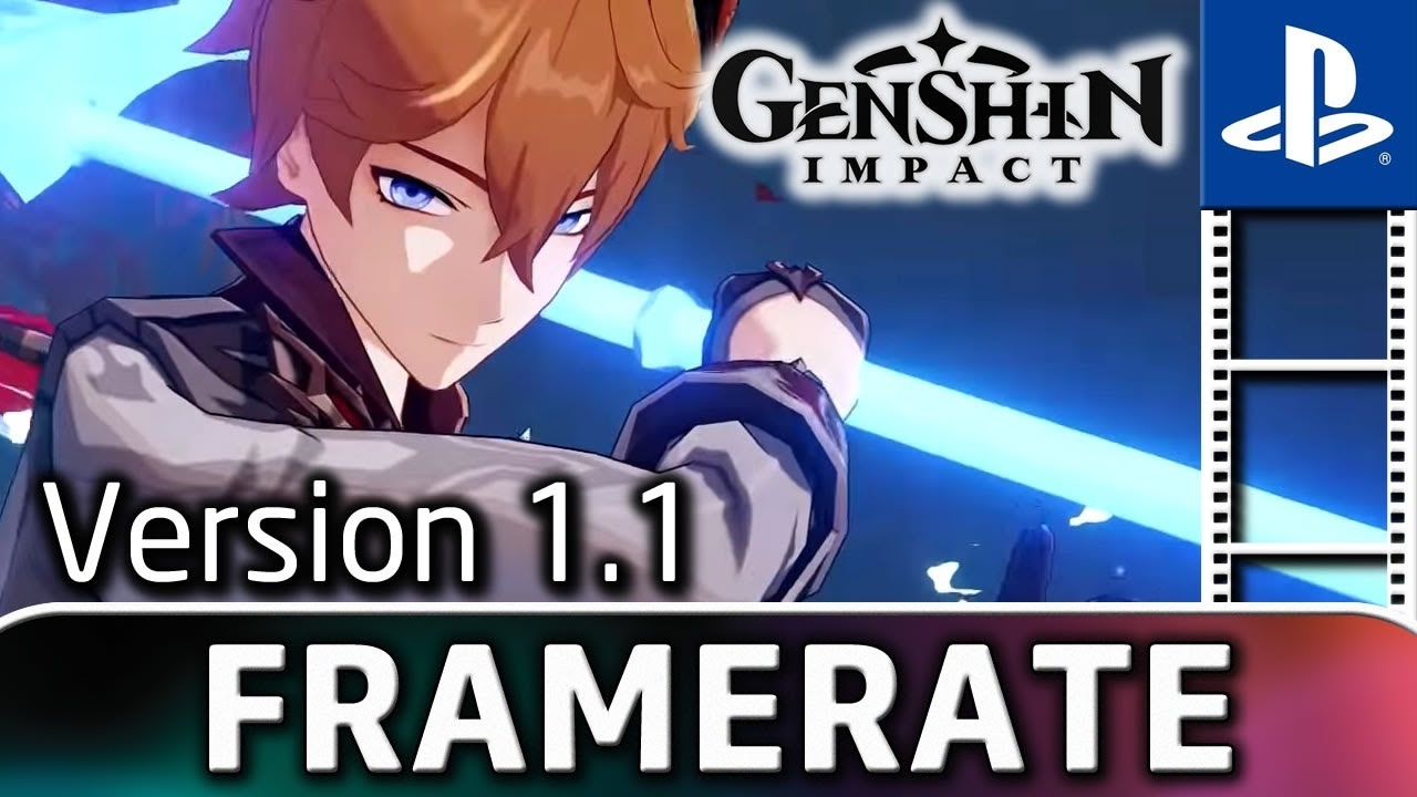 Genshin Impact | Version 1.1 | Frame Rate Test on PS4