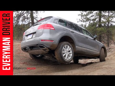 2014 Volkswagen Touareg TDI Dirty Off-Road Review on Everyman Driver