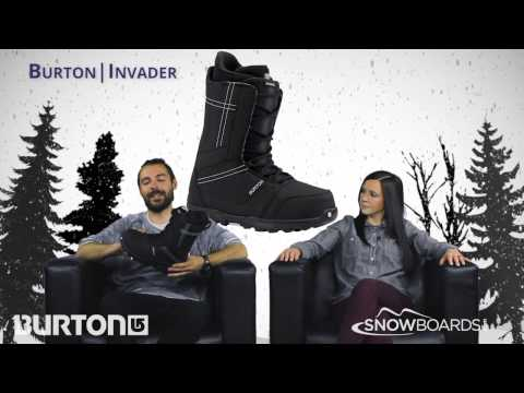 Video: 2016 Burton Invader Mens Boot Overview by SnowboardsDotCom