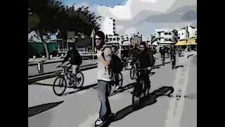 preview picture of video 'CRITICAL MASS -  Λευκωσία / Lefkoşa / Nicosia 18-2-2012'
