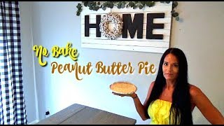 easy peanut butter pie with cool whip and cream cheese