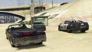 GTA V - Albany Virgo ride & police chase