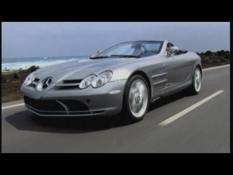 Mercedes-Benz SLR Supercar Test