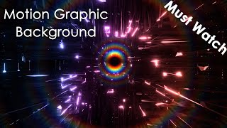 motion background video effects hd, background motion graphics, neon lights animation, Royalty Free