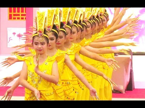 AVALOKITESVARA Thousand Hands Dance - TARI 1000 TANGAN - Chinese Classical Dance [HD]