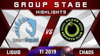 Liquid vs Chaos + MATUMBAMAN TI9 The International 2019 Highlights Dota 2