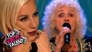 These 80-YEAR-OLD-Singers MOVE THE JUDGES to TEARS!