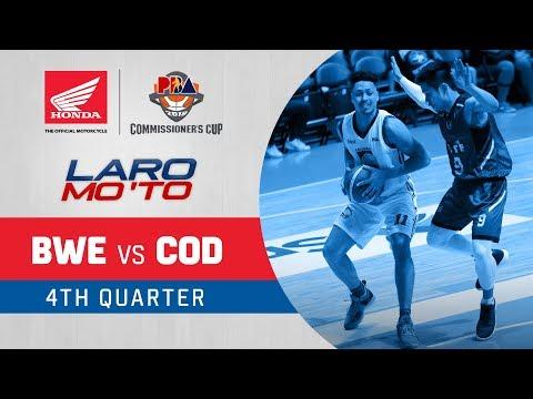 [Sport5] Blackwater vs. Columbian Dyip – Q4 | PBA Commissioner's Cup 2018
