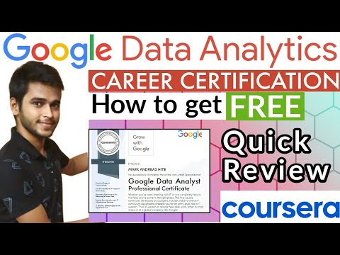 Google Data Analyst Professional Certificate   How to get @Google ...