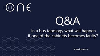 In a bus topology what happens if one cabinate fails