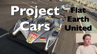Project Cars - Flat Earth United - Live OBS Frame Rate Test 1080 HD 30FPS