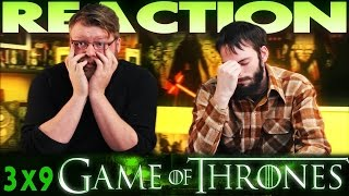 "Game of Thrones 3x9 REACTION!! ""The Rains of Castamere"""