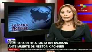 El ALBA Lamenta Muerte De Kirchner Pionero De La Nueva Arquitectura Política Suramericana