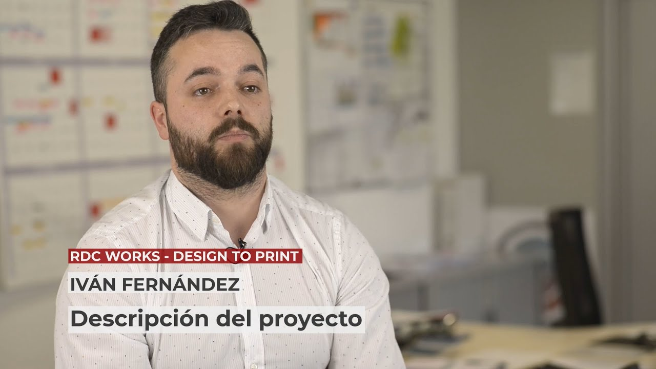 1 Innovative project in 1 minute: Rdc works - Design to print