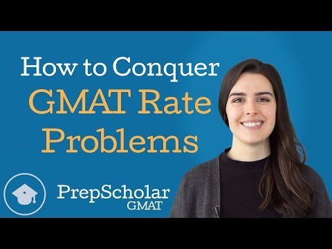 How to Conquer GMAT Rate Problems