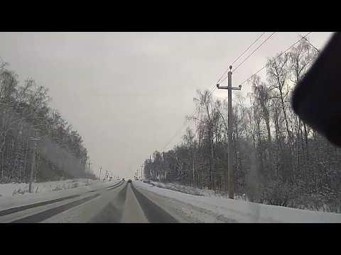 Шкода Октавия А7;!!! Небольшое путешествие по заснеженным дорогам Подмосковья.
