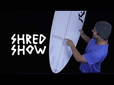 Shred Show – Rusty Surfboards Blackbird Step-Up (AKA It's El Nino, Bitches)