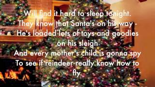 The Christmas Song (Chestnuts roasting on an open fire) lyrics