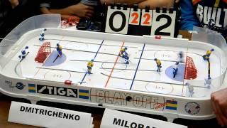 Table Hockey. Настольный хоккей. Moscow Open 2013. Dmitrichenko-Miloradov. Final. Game 5