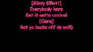 lyrics to lose control by missy elliot