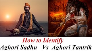 How to identify a Aghori in Society   Types of Aghori   Aghori Sadhu Vs Aghori Tantrik