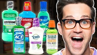What's The Best Mouth Wash? Taste Test